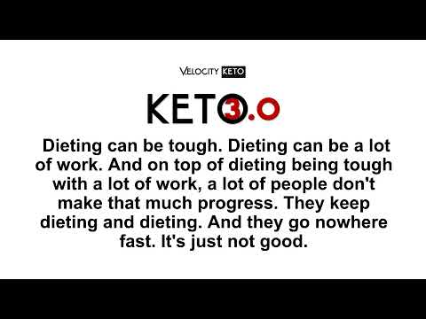 Dieting can be tough We Just Accidentally Made It Way Easier KETO3 Video Ad